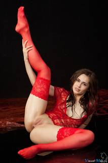 La fotografía erótica sexy mujer rusa